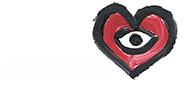 Neg. Logo der Deutsche Herzstiftung e.V.