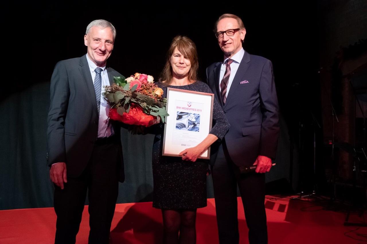 Verleihung des BNK Medienpreis an die Ratgeber